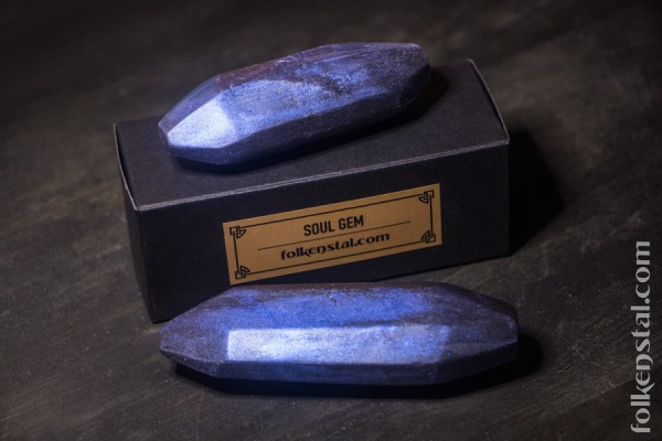 Black Soul Gems - soap bundle