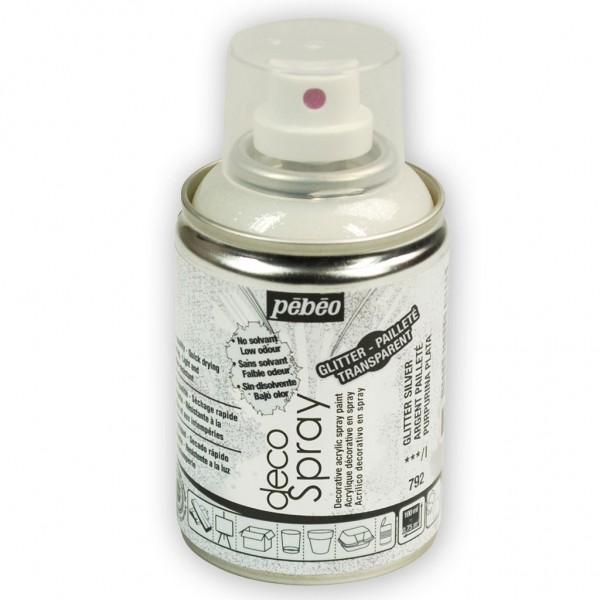Pébéo DecoSpray (Glittereffekt Silber)